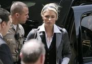 paris hilton  - after her sentencing
