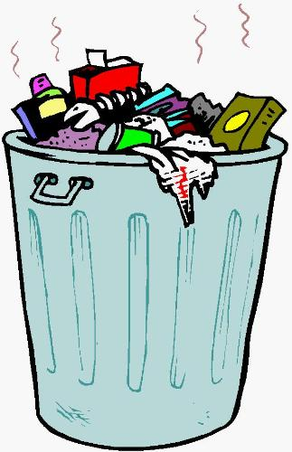 garbage - throw your garbage properly