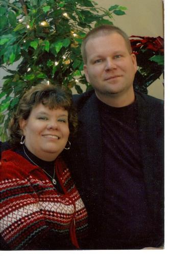 Mike and me - this was taken on our 19th wedding anniversary