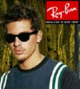 Ray-ban  - image of a publicity poster for Ray-ban sunglasses.