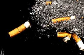 smoking at parties. - Stinking people at parties due to thier smoking habbits...!!