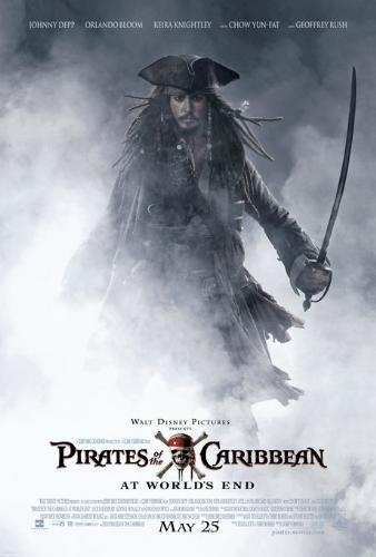 """""""Pirates of the Caribbean: At World's End"""" - here is the movie poster from the website........."""