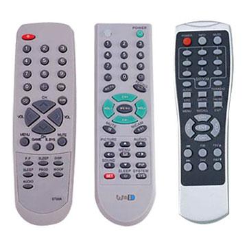 remote control - 3 television remote controls