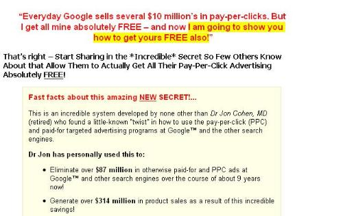 get google pay-per-click ads for free..!! - google pay-per-click ads for free..!! believe it or not??