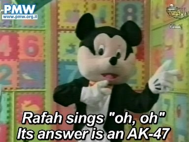 Mickey Mouse Look-A-Like - Teaching Hatred