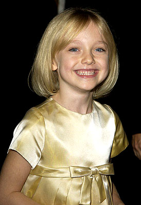 Dakota Fanning - She is so cute! She reminds me of my oldest niece!