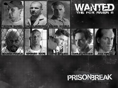 Which Character - All Prison Bream Characters