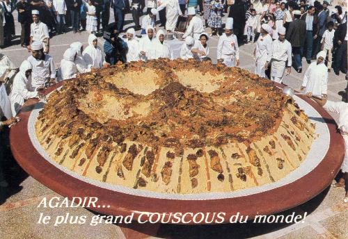 couscous - where was the bigest couscous in the world?
