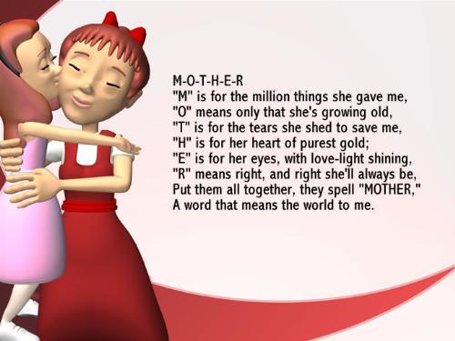 mom - i love u mom