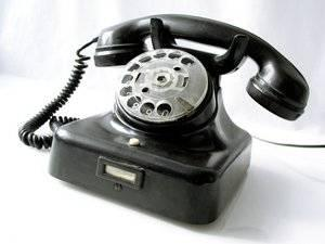 telephone - the picture says it all. ring.