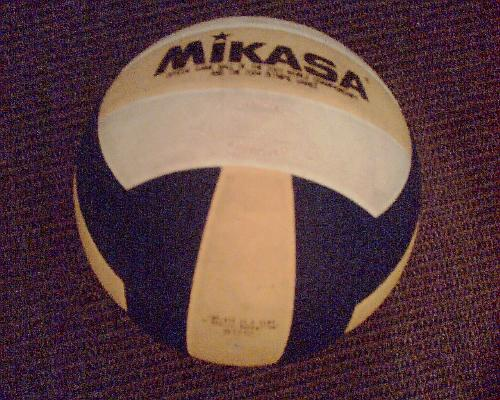 Volleyball - This is my volleyball which i use alot.