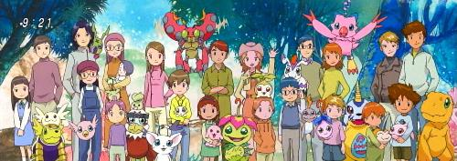 The End of 02 - The Digidestined and their children, the end of the very best series.