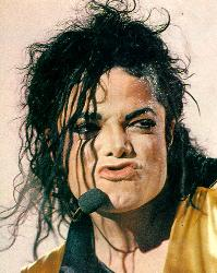 Michael Jackson - Photograph of MJ from Dangerous