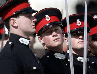 Prince Harry - In uniform