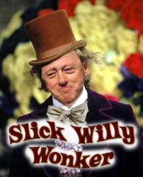 Slick Willy - Bill Clinton promised the country a lot of sweet things, but he had his share of sweet things in the shadows too!