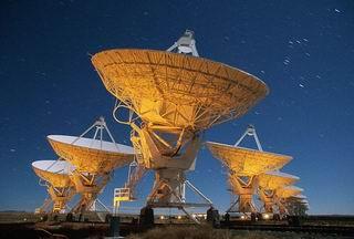 seti - astronomic antennas