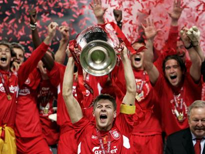Liverpool Champion - Liverpool is a champion of champions league