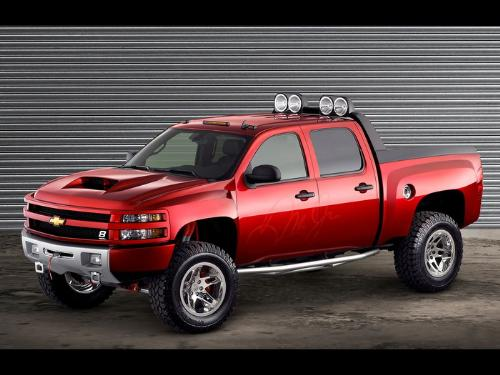 "Jr ""Big Red Truck"" concept if it's going to be an ""All Terrain HD""."