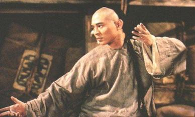 jet li - jet li in one of his once upon a time in china movies.