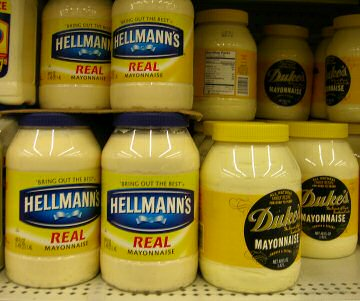 Mayonnaise - Not for me.. Never did like Mayo, and I don't think I ever will...