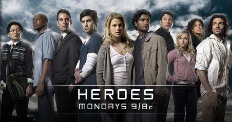 Heroes crew... - These are all the main actors in the new series Heroes...