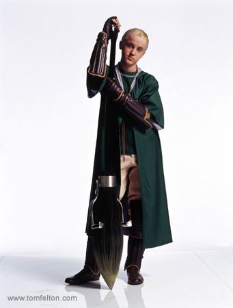 Draco Malfoy - Draco, one of Slytherin house's most infamous members.