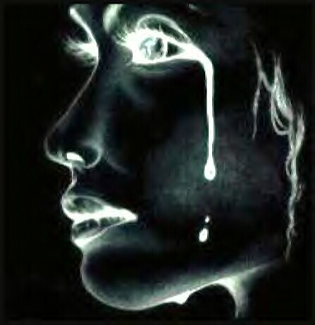 a girl crying - did they make you cry?