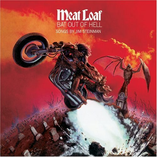 Meatloaf - image of the cover for the album Bat Out of the Hell by Meatloaf