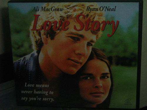 love story - love means never having to say you're sorry.
