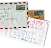 letters - I have a wonderful feeling reading the leters from the past.