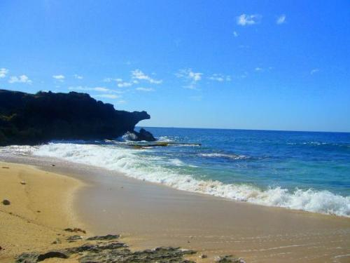 Bolinao Beach - Taken in Bolinao, Pangasinan, Philippines. The contrast of the colors is perfect.