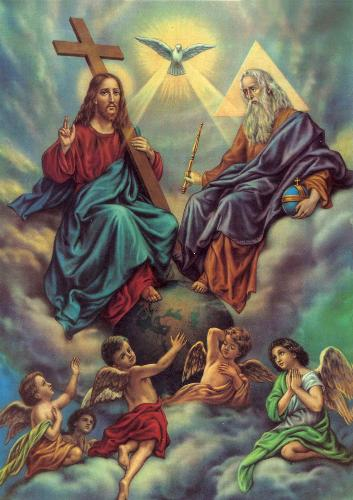 The Holy Trinity - God the Father, the Son, and the Holy Spirit