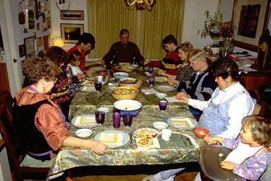 family praying - We should pray.