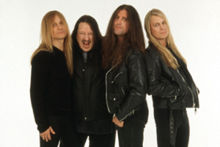 Savatage - A heavy-metal band founded by Jon and Criss Oliva, they made one of my all-time favorite song. All That I Bleed, one of the well-written songs during it's time..