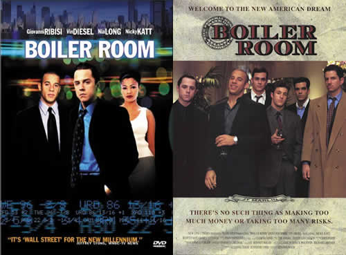 boiler room - Photo of movie posters for the movie boiler room.