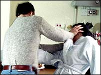 Domestic Violence - Women hitting men.
