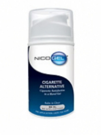Nicogel - This is a hand gel that gives a transdermal dose of nicotine to people who want to quit smoking.