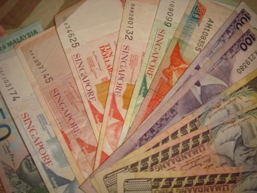 extra money - phillipine peso,singapore dollar,malaysia ringgit