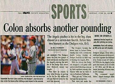 Funny headline! - Check out the lines! lol