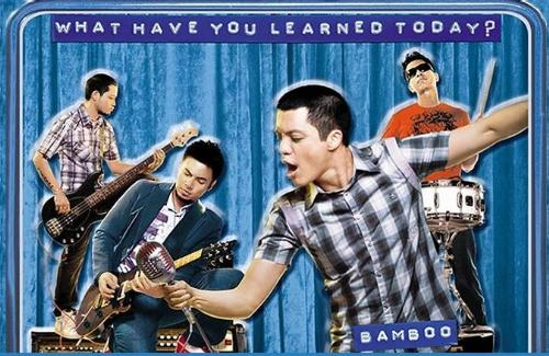 What Have You Learned Today? - The official ad poster of Bamboo at Penshoppe