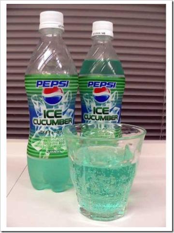 Pepsi Ice Cucumber  - Pepsi Ice Cucumber Pepsi Ice Cucumber