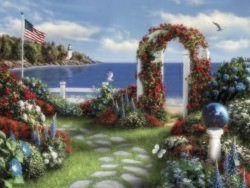 gatway of haven - this is the gate of heaven do you like to go from here