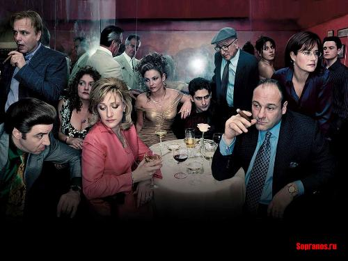 Soprano cast - A glimpe of some of the main characters in the tv hit Sopranos