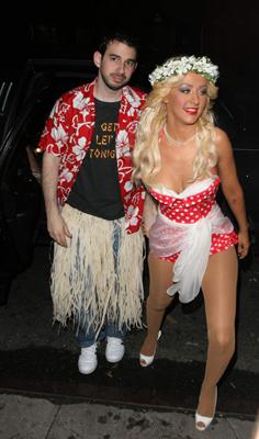 Christina Aguilera - Christina Aguilera and Jordan Bratman
