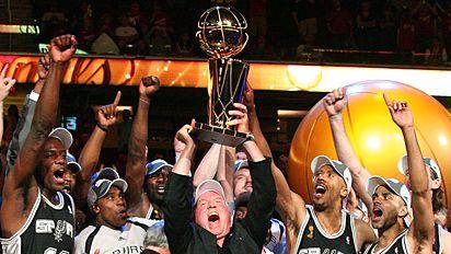 San Antonio Spurs  - San Antonio Spurs CHAMPS!