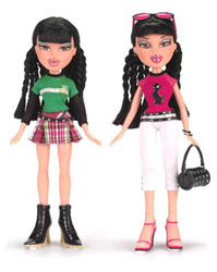 An example of some of the Bratz Dolls that may be  - An example of some of the Bratz Dolls that may be the best dressed out of all of them.