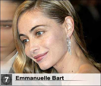 World's most beautiful women no. 7 - Emmanuelle Bart
