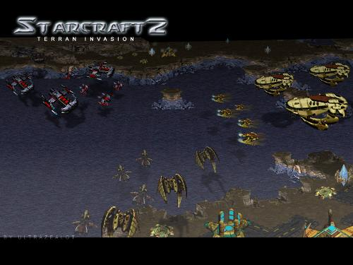 Starcraft 2 snapshot - This is a snapshot of Starcraft due to be released in the near future