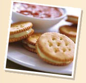 Crackers And..... - cheese, dip or jelly?