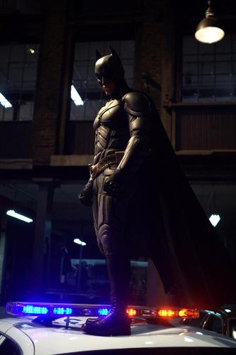 The New Batman Suit  - Christian Bale in the new Batman suit. New movie is due july 2008